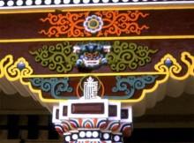 Det tibetanska templet i Bodh Gaya