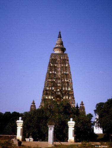Mahabodhi-templet och Bodhi-trädet